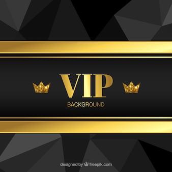 Eleganter hintergrund golden mit kronen
