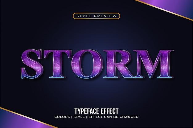 Eleganter lila text mit 3d effekt