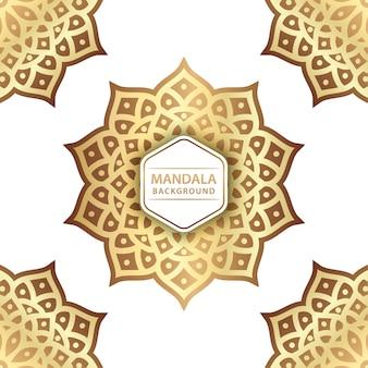 Eleganter mandalahintergrund