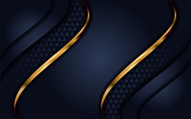 Eleganter marineblauhintergrund mit deckschicht