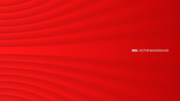 Eleganter minimalistischer roter 3d abstrakter hintergrund