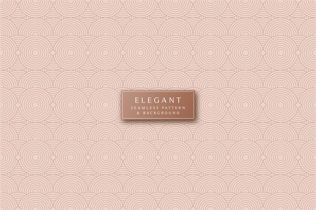 Eleganter nahtloser musterhintergrund der minimalen linien