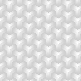 Eleganter neutraler hintergrund mit geometrischem muster in weiß