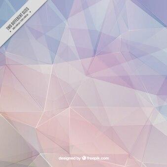 Eleganter polygonal hintergrund