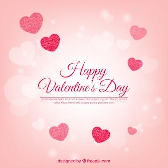 Eleganter rosa valentinsgrußtageshintergrund