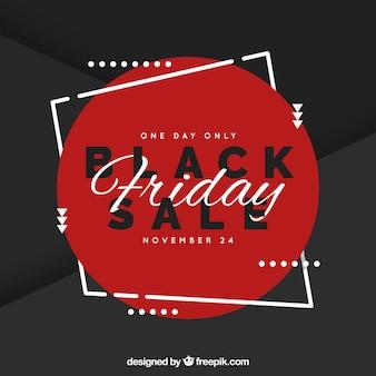 Eleganter schwarzer Freitag-Verkaufshintergrund