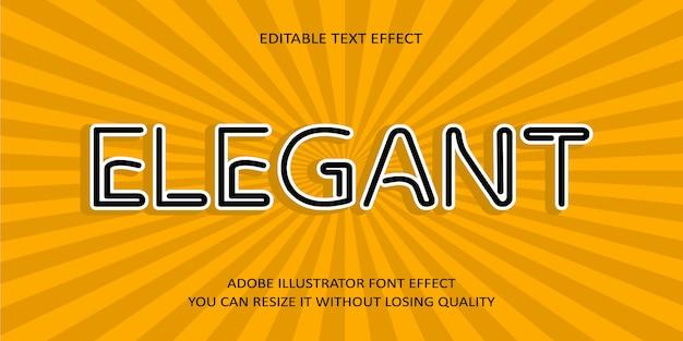 Eleganter text-guss-effekt