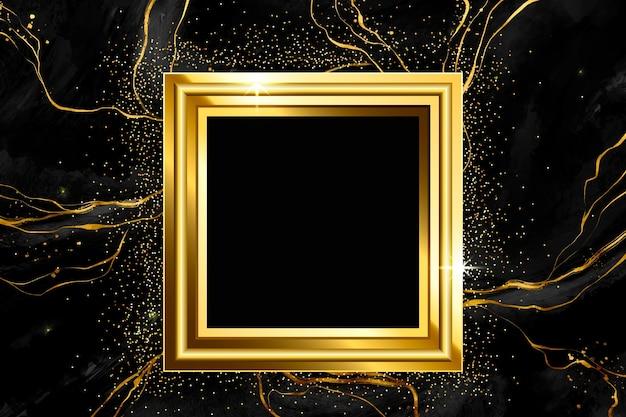 Eleganter und goldener designelementhintergrund
