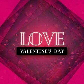 Eleganter valentine red love background