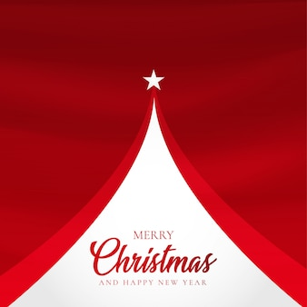 Eleganter weihnachtshintergrund mit abstraktem baum