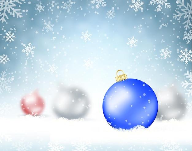 Eleganter weihnachtshintergrund.