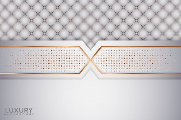 Eleganter weißer abstrakter hintergrund