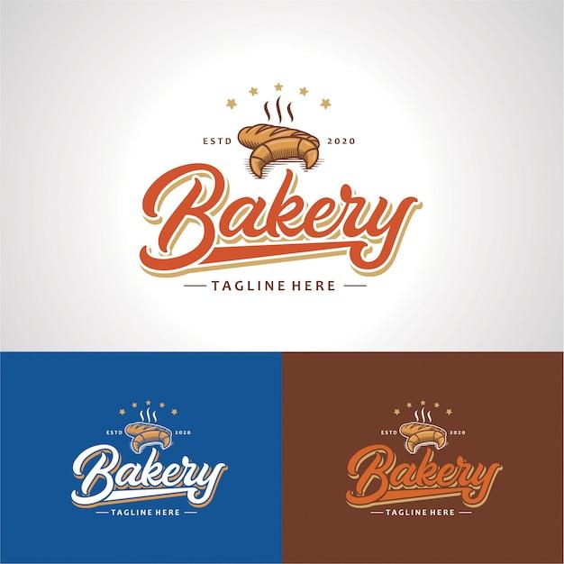 Elegantes bäckerei-logo