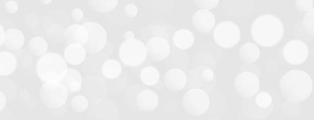 Elegantes design der weißen lichter bokeh