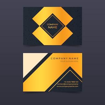 Elegantes design für visitenkarte
