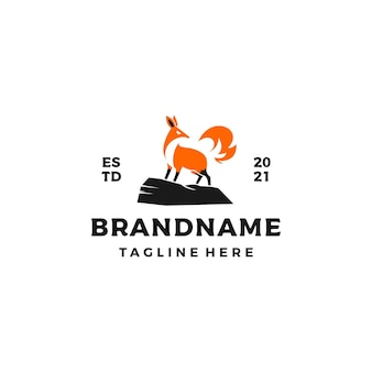 Elegantes fox logo design