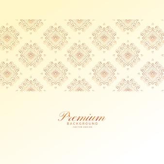 Elegantes premium-vektor-hintergrund-design