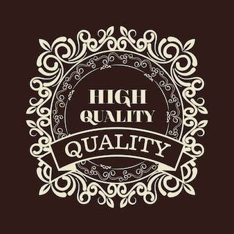 Elegantes qualitätsrahmen-design