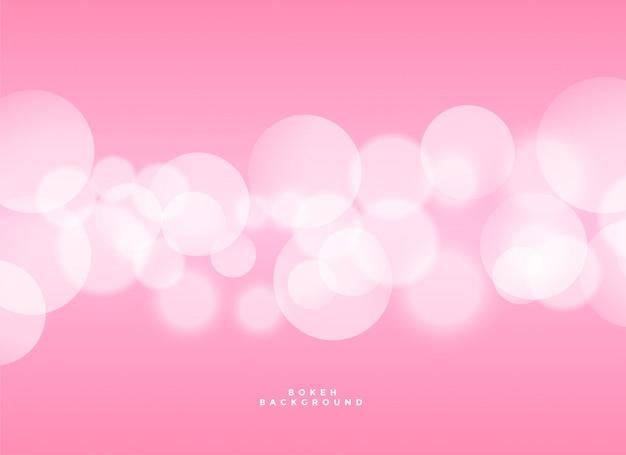 Elegantes rosa bokeh hintergrunddesign