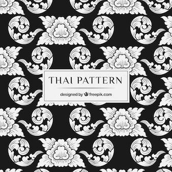 Elegantes thailändisches muster