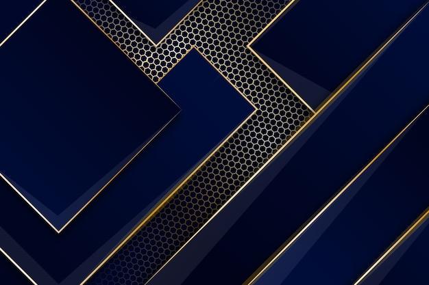 Elegantes thema für hintergrund mit goldenen details