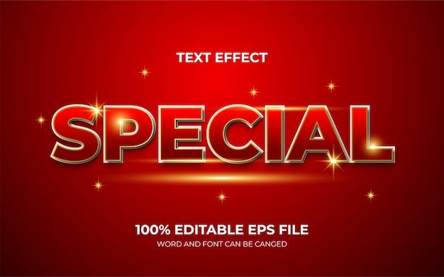 Elegantes und luxuriöses spezielles texteffektdesign
