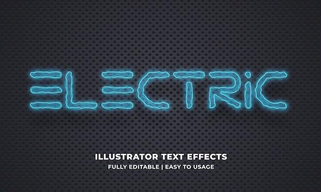Elektrisch bearbeitbarer texteffekt