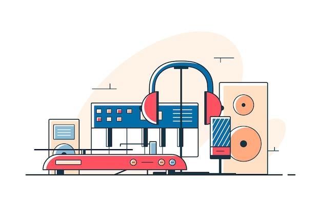 Elektrische audiogeräte und -geräte
