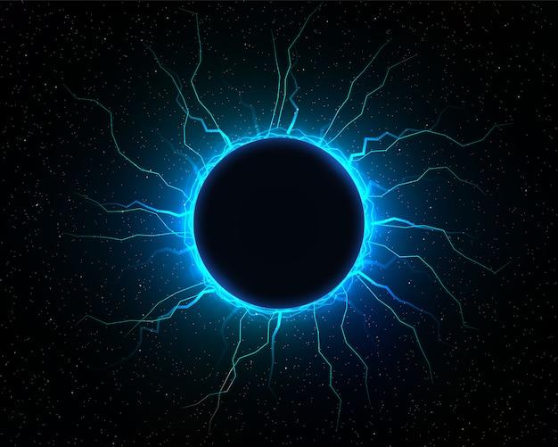Elektrische blitzkugel.