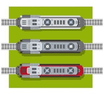 Elektrische Lokomotive von Eisenbahnen