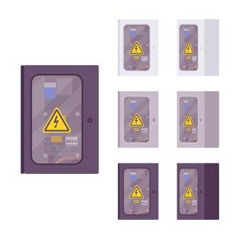 Elektrisches wetterfestes box-set