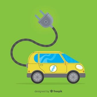 Elektroauto-hintergrund