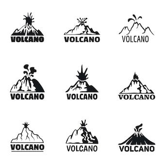 Elektronische zigarette mod logo set