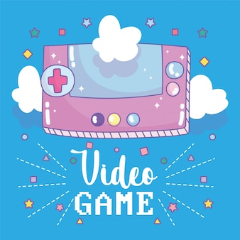 Elektronischer cartoon des tragbaren konsolen-unterhaltungs-gadget-geräts des videospiels