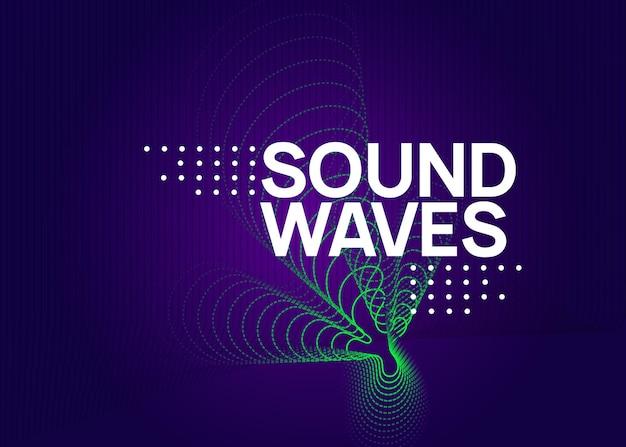 Elektronisches fest. cooles showeinladungslayout. dynamisch fließende form und linie. neon-elektronischer festflyer. electro-dance-musik. trance-sound. plakat zur vereinsveranstaltung. techno-dj-party.