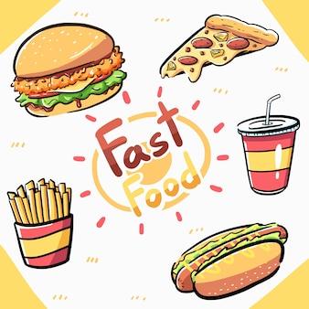 Element fast-food-artikel