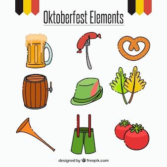 Elemente des oktoberfestes