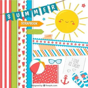 Elemente für den sommer
