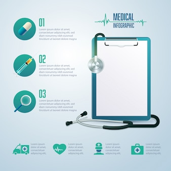 Elemente für medizinische infografik