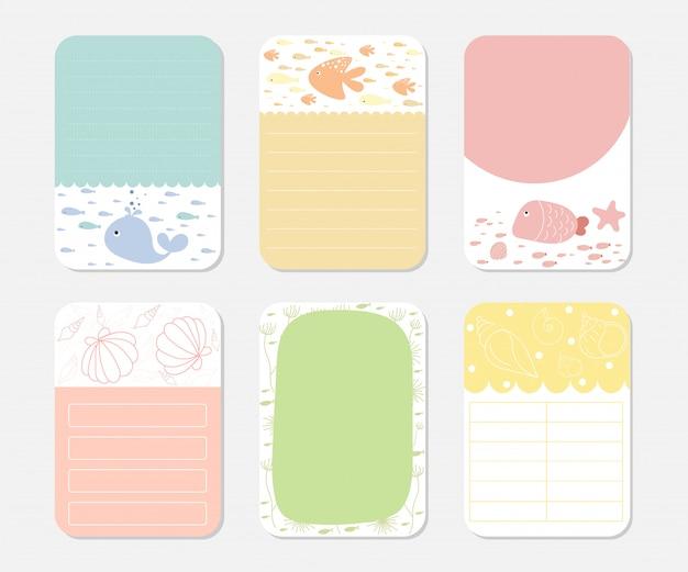 Elemente für notebook