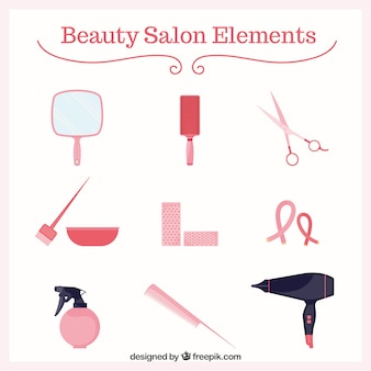 Elements of beauty-salon
