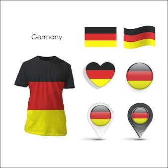 Elementsammlung deutschland design
