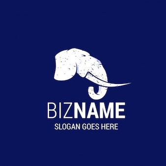 Elephant business logo