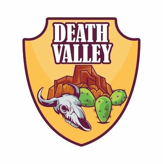 Emblem patch logo death valley nationalpark
