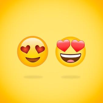 Emoji verliebt