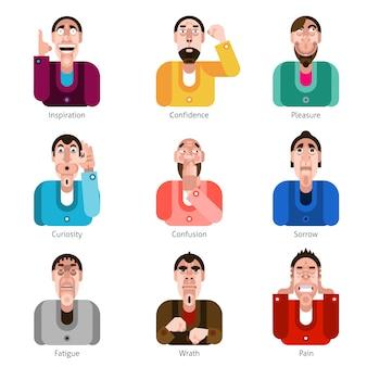 Emotion icons gesetzt