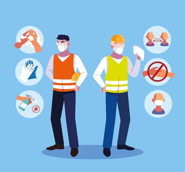 Empfehlungen zur verhinderung von covid bei branchenbetreibern