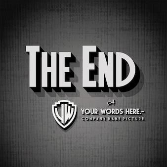 End credits hintergrund