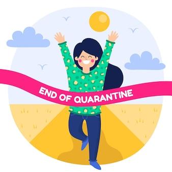 Ende des quarantänecharakters im freien