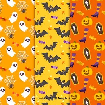 Endlose textur für halloween-partys